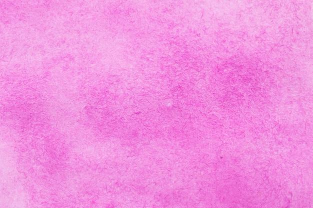Różowej abstrakcjonistycznej akwareli tekstury makro- tło