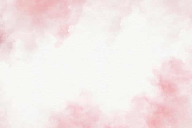 Różowy akwareli abstrakta tło