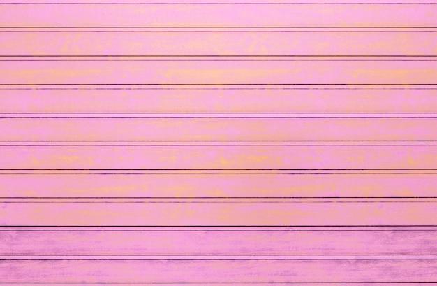Różowy drewnianych desek tekstury tło. efekt vintage