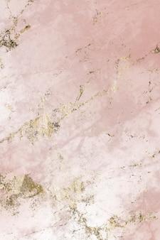 Różowy i złoty marmur teksturowane tło