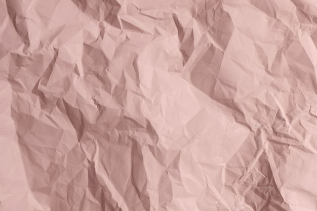 Różowy papier zmięty tekstury