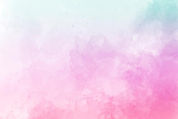 Różowy tło akwarela. rysunek cyfrowy.