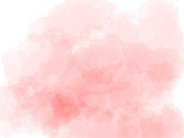Różowy tło akwarela