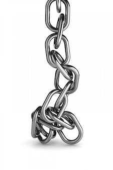 Rozpiąć metalowy łańcuch