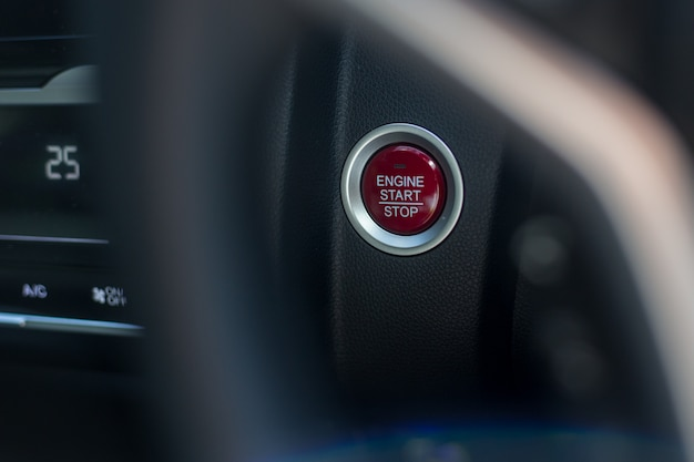 Rozruch Silnika Samochodu Premium Zdjęcia