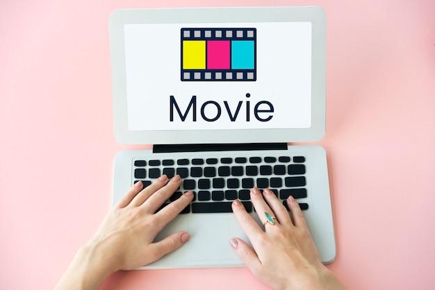 Rozrywkowy pokaz filmów kinowych