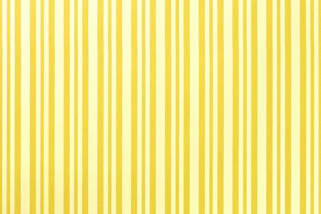Rozświetlający żółty wzór w paski