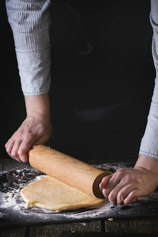 Rozwałkować ciasto
