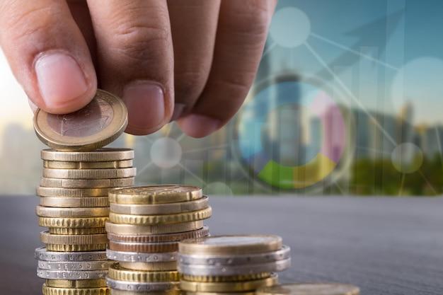 Rozwijanie biznesu w celu inwestowania w planowanie.