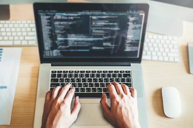 Rozwój programisty rozwój projektowanie stron internetowych i technologie kodowania