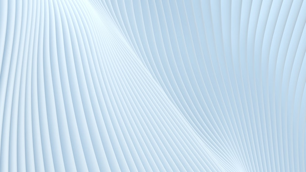 Ruch linii dwóch arkuszy zbiega się z miękkim białym tłem przepływu fali