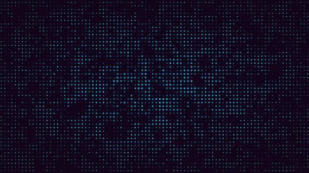 Ruch retro pikseli streszczenie tło. elegancka i luksusowa dynamiczna geometryczna ilustracja 3d z lat 80. i 90. w stylu memphis
