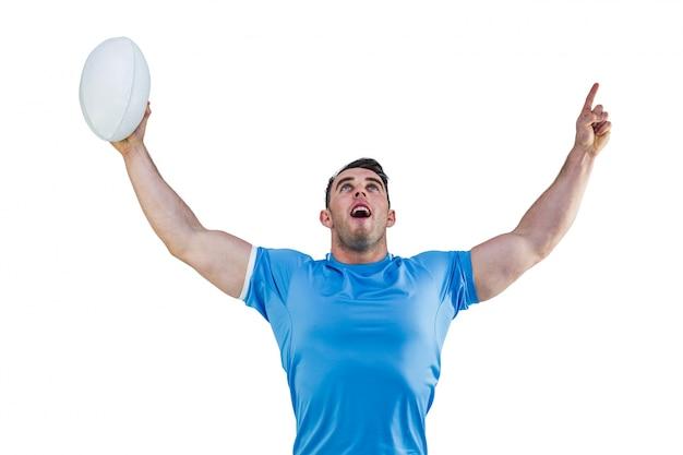 Rugby gracza doping i wskazywać