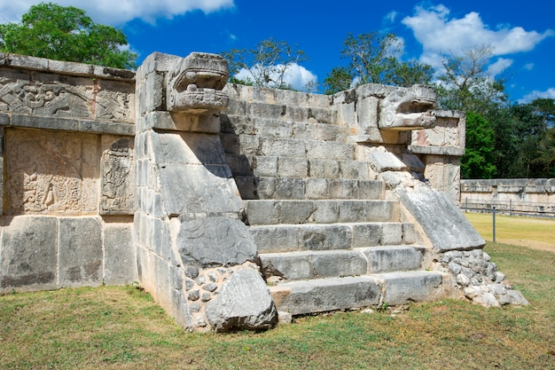 Ruiny chichen itza, meksyk