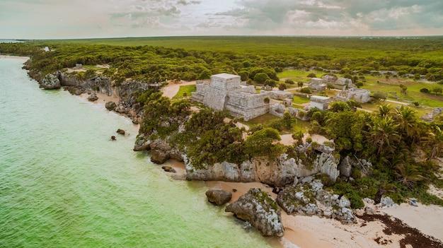Ruiny majów z tulum