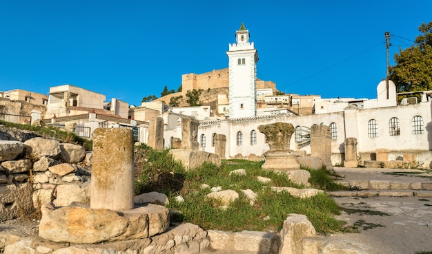 Ruiny rzymskiej świątyni w le kef - tunezja, afryka