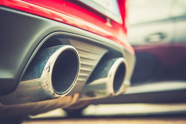 Rura wydechowa samochodu