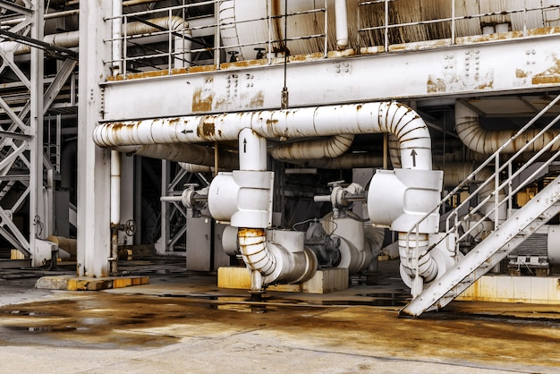 Rurociąg strefy przemysłowej