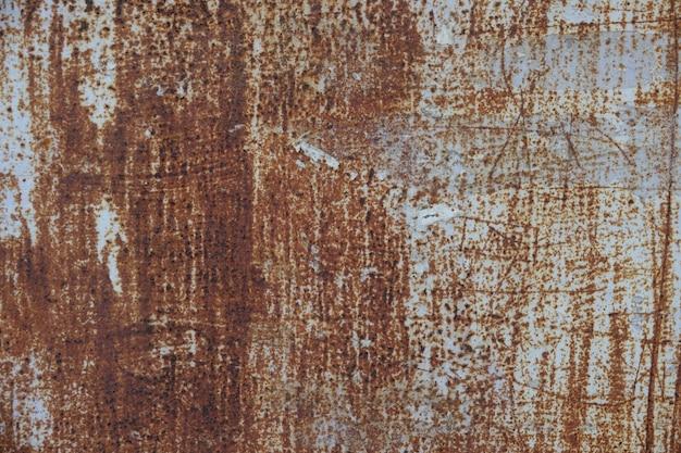 Rusty metalicznej tekstury