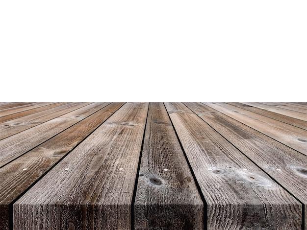Rustykalne drewniane brązowe deski w paski tekstury tła