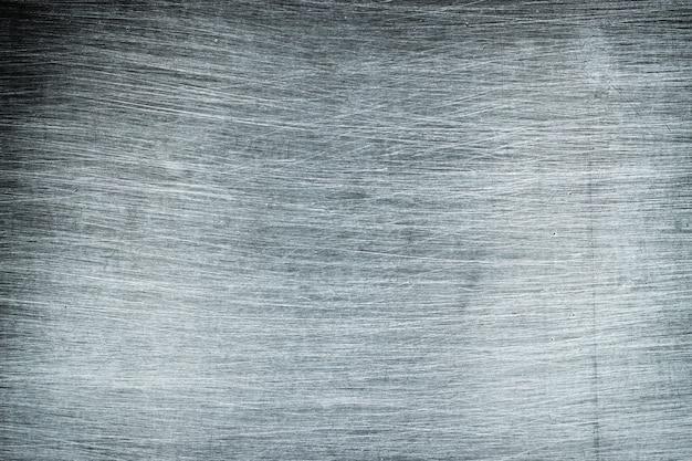 Rustykalne tło metalowe, lekka metalowa tekstura z polerowanym wzorem