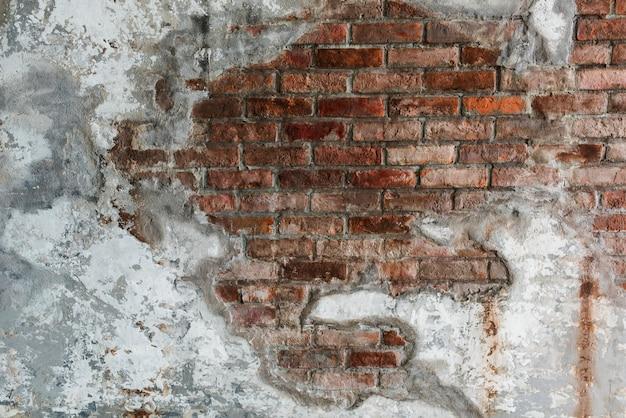Rustykalny mur z cegły