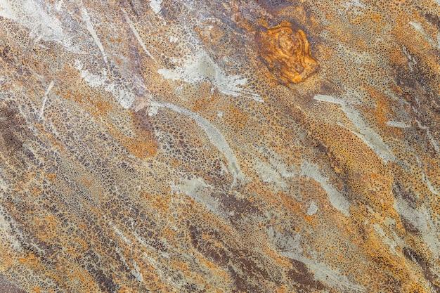 Rustykalny wielokolorowy metaliczny kamień łupkowy tekstura tło