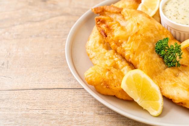 Ryba z frytkami z frytkami