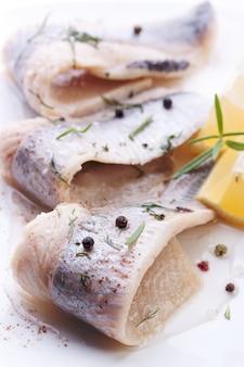 Ryba z pieprzem kulki bliskich
