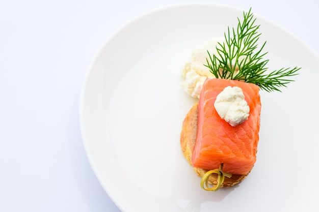 Ryba z serem.