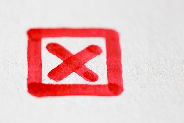 Rysowanie znaku krzyża w ramce