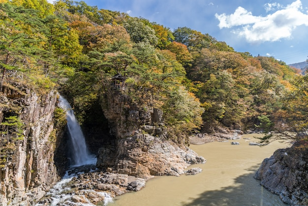 Ryuyo gorge nikko tochigi japonia