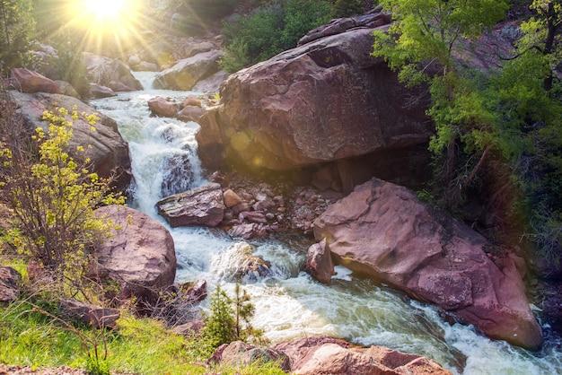 Rzeka górska