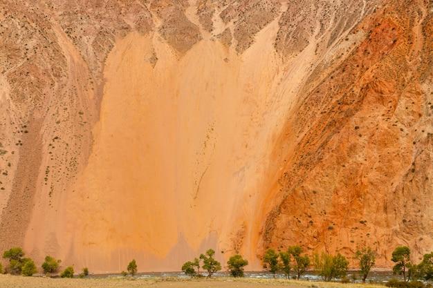 Rzeka kokemeren, dystrykt jumgal, kirgistan
