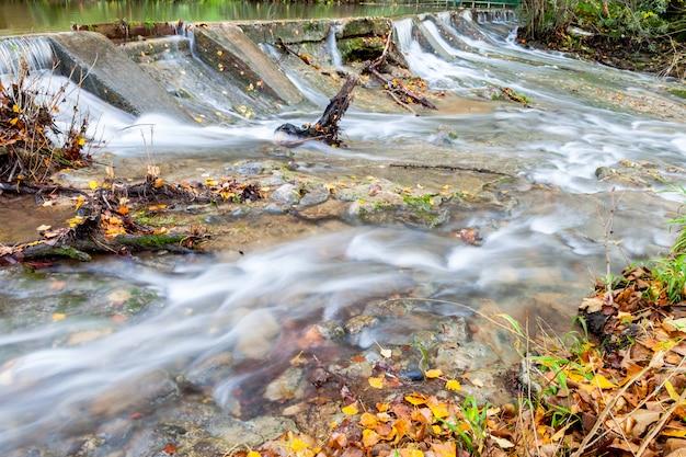 Rzeka majaceite, el bosque, kadyks, hiszpania