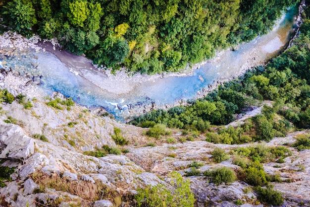 Rzeka tara, czarnogóra