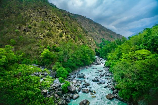 Rzeka z everest trek