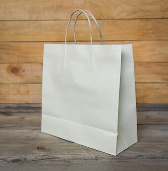 Rzemieślnicza papierowa torba do pakowania żywności, jednorazowa ekologiczna papierowa torba na zakupy