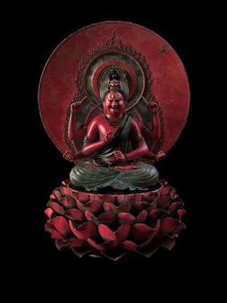 Rzeźba boga śiwy. ilustracja 3d