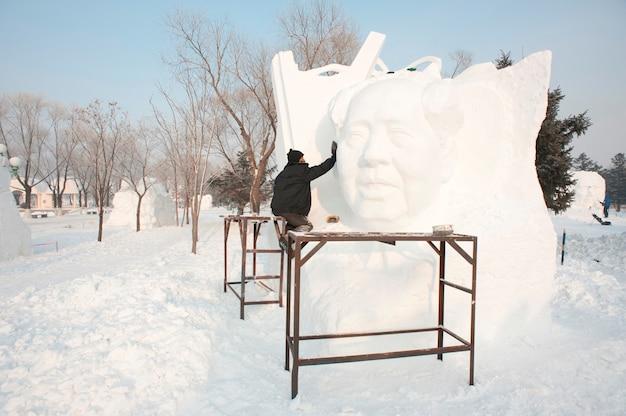 Rzeźba śniegowa