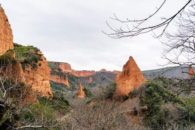 Rzymska kopalnia złota las medulas w castilla y leon