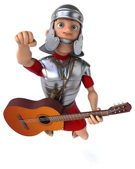 Rzymski żołnierz ilustracja 3d