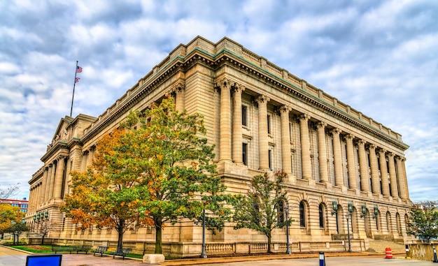 Sąd hrabstwa cuyahoga w cleveland w stanie ohio, stany zjednoczone
