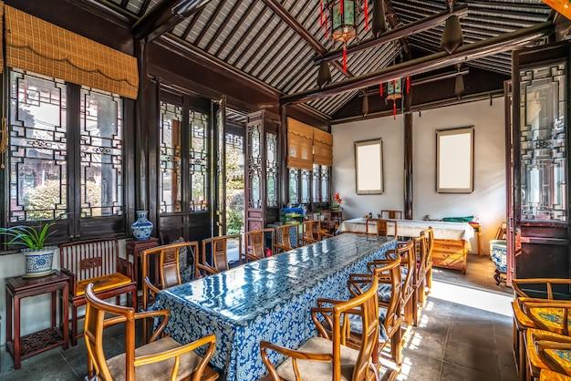 Sala konferencyjna architektury chińskiej