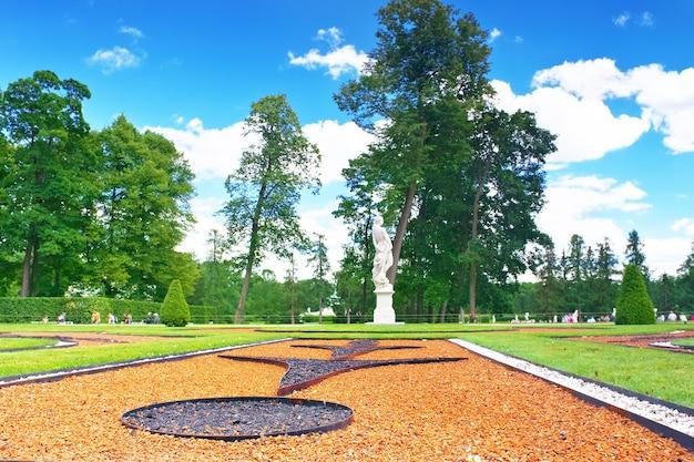 Sala parkowa katarzyny w carskim siole (puszkin), rosja