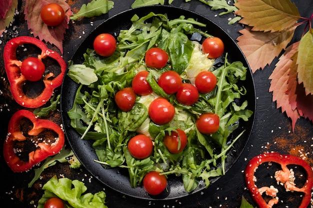 Sałatka wegetariańska odpowiednia dieta żywieniowa