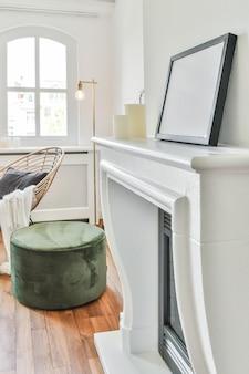 Salon domu w eleganckim stylu