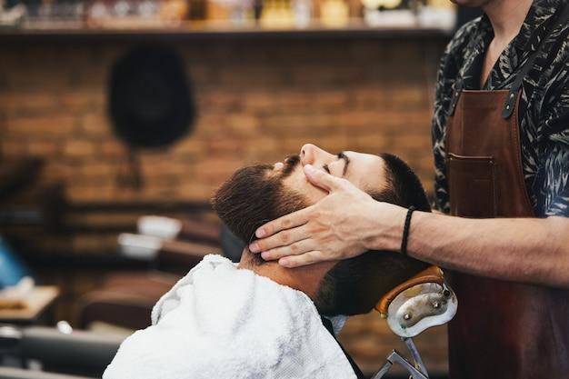 Salon fryzjerski i salon fryzjerski