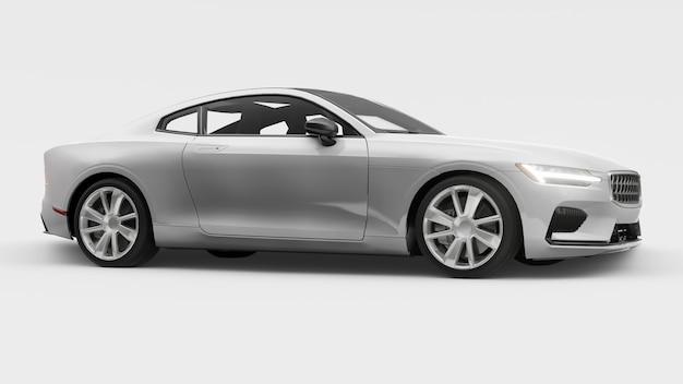Samochód koncepcyjny sportowy premium coupe plugin hybrid