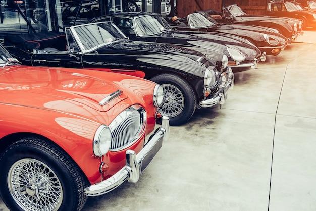 Samochód retro transportu vintage.